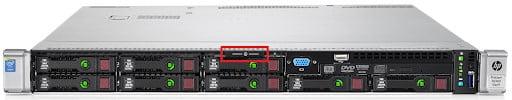 مشخصات ilo سرور hp در سرور های مدل dl360