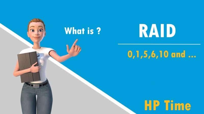 رید چیست ؟ معرفی انواع RAID رید 0 رید 1 رید 10