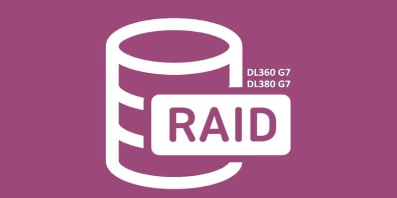 آموزش نحوه رید بندی سرور DL380 G7 با اچ پی تایم