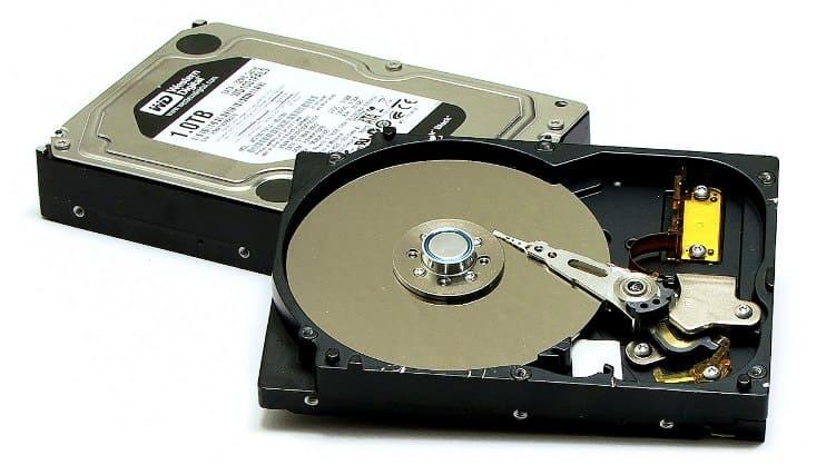 تصویر هارد دیسک یا همان HDD