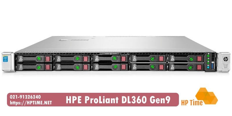 بررسی و فروش سرور اچ پی DL360 G9
