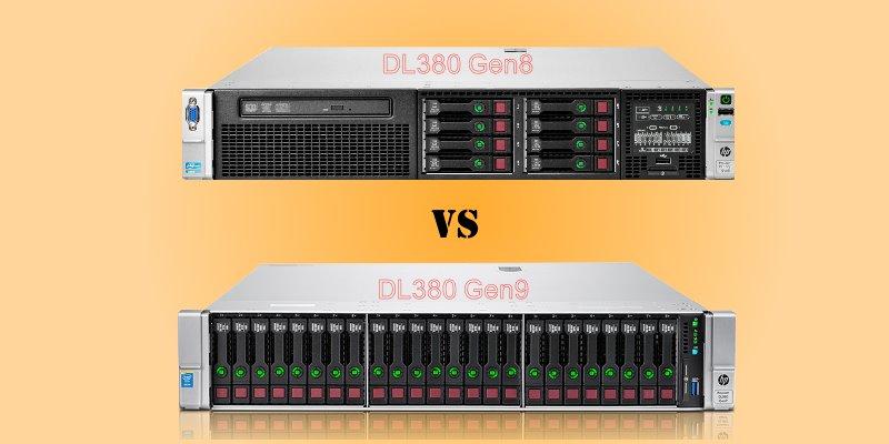 آموزش جامع سرور HP - تفاوتهای سرور اچ پی G8 با سرور G9